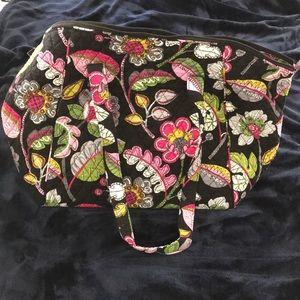Vera Bradley XL Travel Tote Bag in Moon Blooms